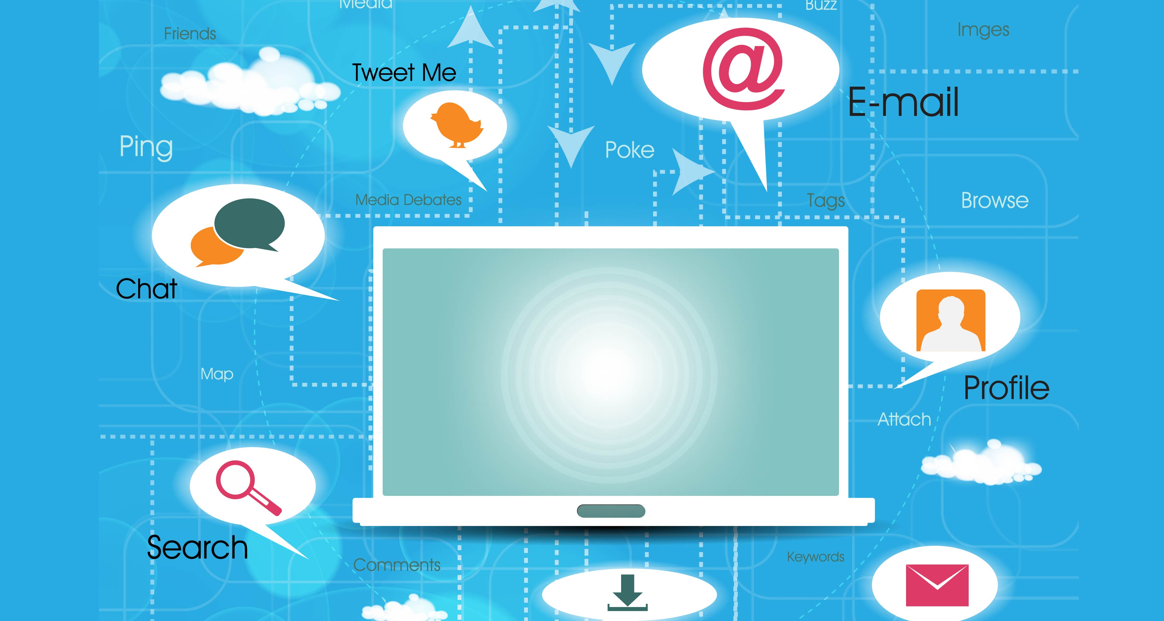 How to communicate online 25